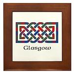 Knot - Glasgow dist. Framed Tile