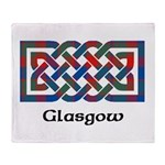 Knot - Glasgow dist. Throw Blanket