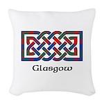 Knot - Glasgow dist. Woven Throw Pillow