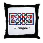 Knot - Glasgow dist. Throw Pillow