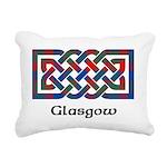 Knot - Glasgow dist. Rectangular Canvas Pillow