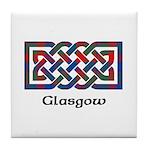 Knot - Glasgow dist. Tile Coaster