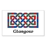 Knot - Glasgow dist. Sticker (Rectangle 10 pk)