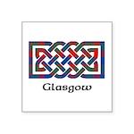 Knot - Glasgow dist. Square Sticker 3