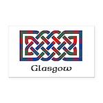 Knot - Glasgow dist. Rectangle Car Magnet