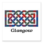 Knot - Glasgow dist. Square Car Magnet 3