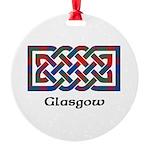 Knot - Glasgow dist. Round Ornament