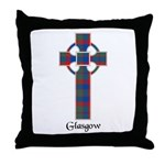 Cross - Glasgow dist. Throw Pillow