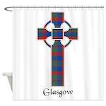 Cross - Glasgow dist. Shower Curtain