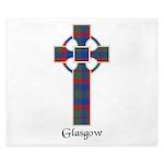 Cross - Glasgow dist. King Duvet