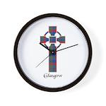 Cross - Glasgow dist. Wall Clock