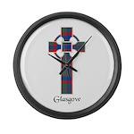 Cross - Glasgow dist. Large Wall Clock
