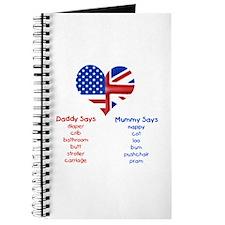 American Daddy, English Mummy Journal