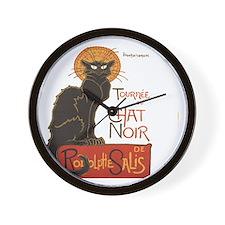 Steinlen Cat Wall Clock