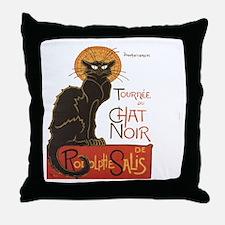 Steinlen Cat Throw Pillow