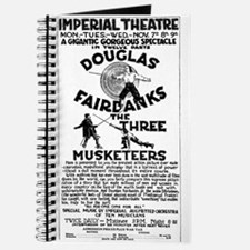 Douglas Fairbanks Three Musketeers Journal