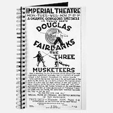 Douglas Fairbanks Three Musketeers Journal