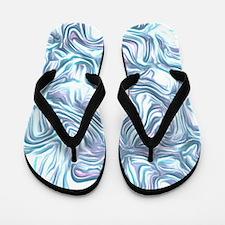 abstract joy bright Flip Flops