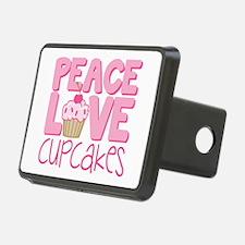 Peace Love Cupcake Hitch Cover