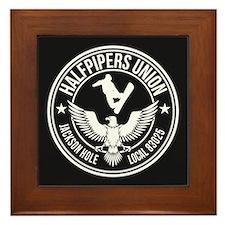 Jackson Hole Halfpipers Union Framed Tile