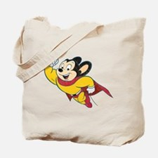 Grunge Mighty Mouse Tote Bag