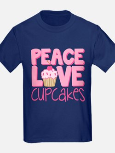Peace Love Cupcake T