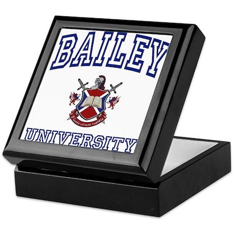 BAILEY University Keepsake Box