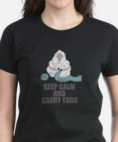 Cute Keep calm crochet Tee