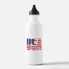 USA Flag Water Bottle