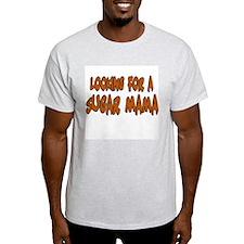 "Anti-Valentine ""Sugar Mama"" Ash Grey T-Shirt"