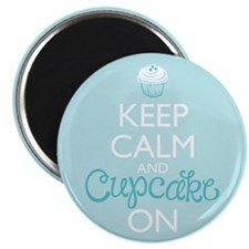 Keep Calm and Bake On Magnets