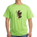 Map - Glasgow dist. Green T-Shirt