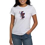 Map - Glasgow dist. Women's T-Shirt