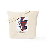 Map - Glasgow dist. Tote Bag