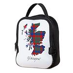 Map - Glasgow dist. Neoprene Lunch Bag