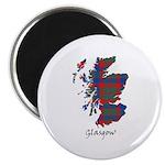 Map - Glasgow dist. Magnet