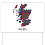 Map - Glasgow dist. Yard Sign