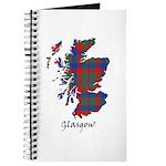 Map - Glasgow dist. Journal