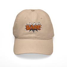 Metal-Wood Bam Baseball Cap
