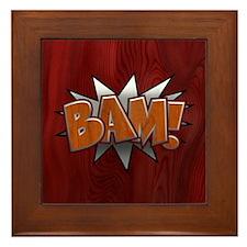 Metal-Wood Bam Framed Tile
