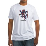 Lion - Glasgow dist. Fitted T-Shirt