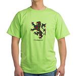 Lion - Glasgow dist. Green T-Shirt