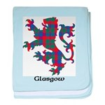 Lion - Glasgow dist. baby blanket