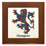 Lion - Glasgow dist. Framed Tile