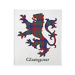 Lion - Glasgow dist. Throw Blanket