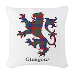Lion - Glasgow dist. Woven Throw Pillow