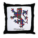 Lion - Glasgow dist. Throw Pillow