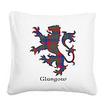 Lion - Glasgow dist. Square Canvas Pillow