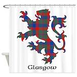 Lion - Glasgow dist. Shower Curtain
