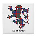 Lion - Glasgow dist. Tile Coaster